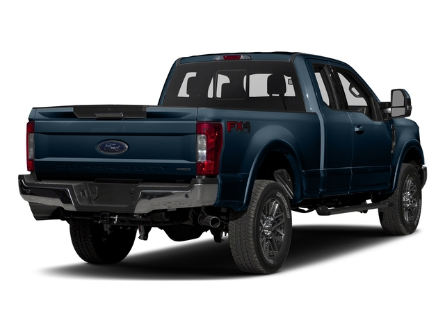 Blue Jeans Metallic 2017 Ford Super Duty F-250 SRW Pictures Super Duty F-250 SRW Supercab Lariat 4WD photos rear view