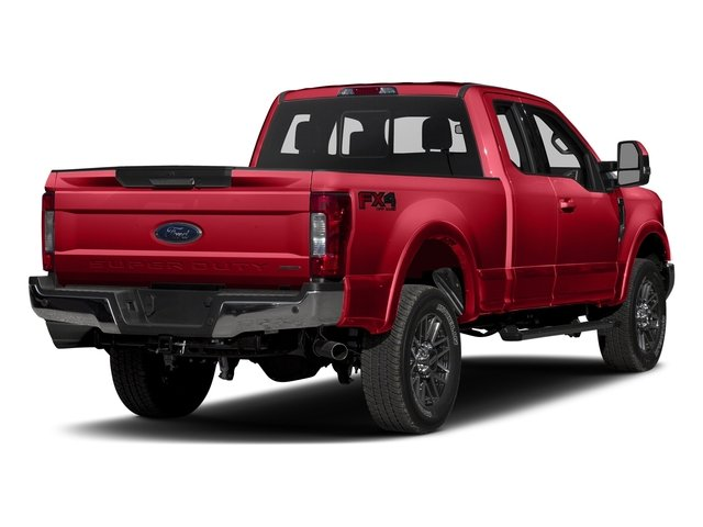 Race Red 2017 Ford Super Duty F-350 SRW Pictures Super Duty F-350 SRW Supercab Lariat 2WD photos rear view