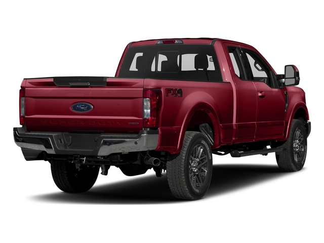 Ruby Red Metallic Tinted Clearcoat 2017 Ford Super Duty F-350 SRW Pictures Super Duty F-350 SRW Supercab Lariat 2WD photos rear view