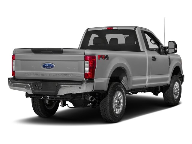 Ingot Silver Metallic 2017 Ford Super Duty F-350 SRW Pictures Super Duty F-350 SRW Regular Cab XLT 2WD photos rear view