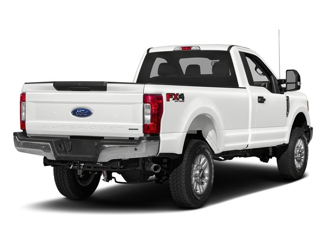 Oxford White 2017 Ford Super Duty F-250 SRW Pictures Super Duty F-250 SRW Regular Cab XLT 2WD photos rear view