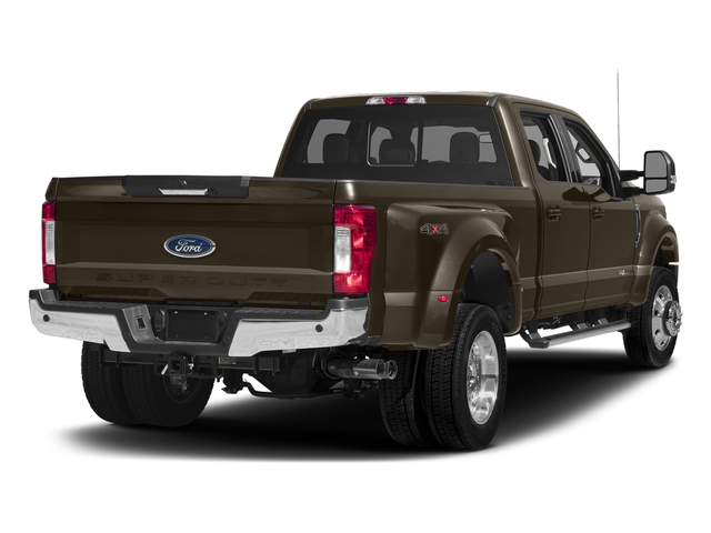 Caribou Metallic 2017 Ford Super Duty F-450 DRW Pictures Super Duty F-450 DRW Crew Cab Lariat 4WD T-Diesel photos rear view