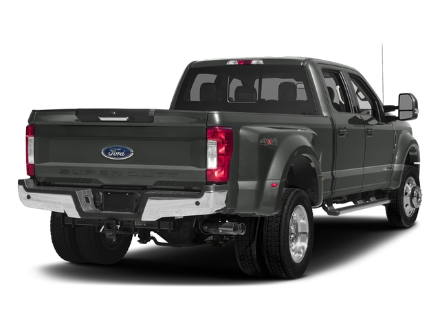 Magnetic Metallic 2017 Ford Super Duty F-450 DRW Pictures Super Duty F-450 DRW Crew Cab Lariat 4WD T-Diesel photos rear view