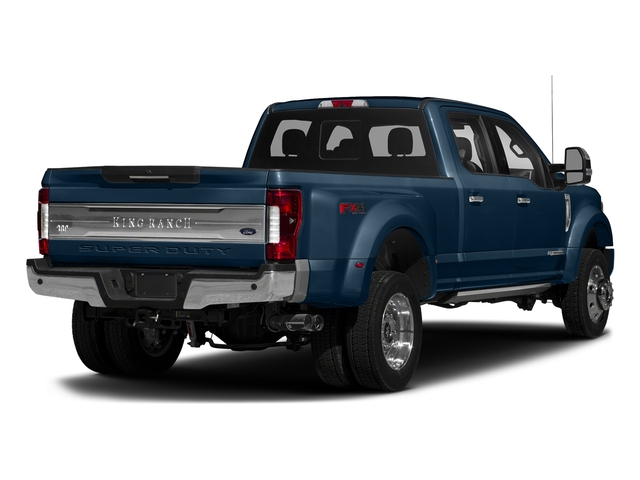 Blue Jeans Metallic 2017 Ford Super Duty F-450 DRW Pictures Super Duty F-450 DRW Crew Cab King Ranch 4WD T-Diesel photos rear view