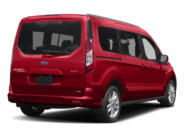 Race Red 2017 Ford Transit Connect Wagon Pictures Transit Connect Wagon Extended Passenger Van XLT photos rear view