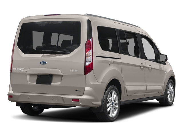 Silver Metallic 2017 Ford Transit Connect Wagon Pictures Transit Connect Wagon Extended Passenger Van XLT photos rear view