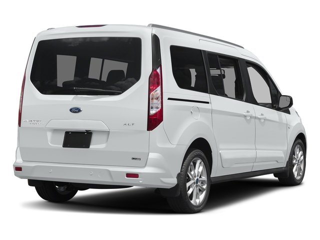 Frozen White 2017 Ford Transit Connect Wagon Pictures Transit Connect Wagon Extended Passenger Van XLT photos rear view
