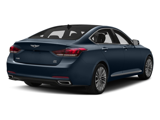 Ibiza Blue 2017 Genesis G80 Pictures G80 3.8L AWD photos rear view
