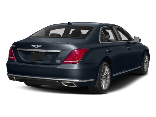 Patagonia Blue Metallic 2017 Genesis G90 Pictures G90 5.0L Ultimate RWD photos rear view