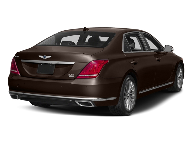 Manhattan Brown 2017 Genesis G90 Pictures G90 5.0L Ultimate RWD photos rear view