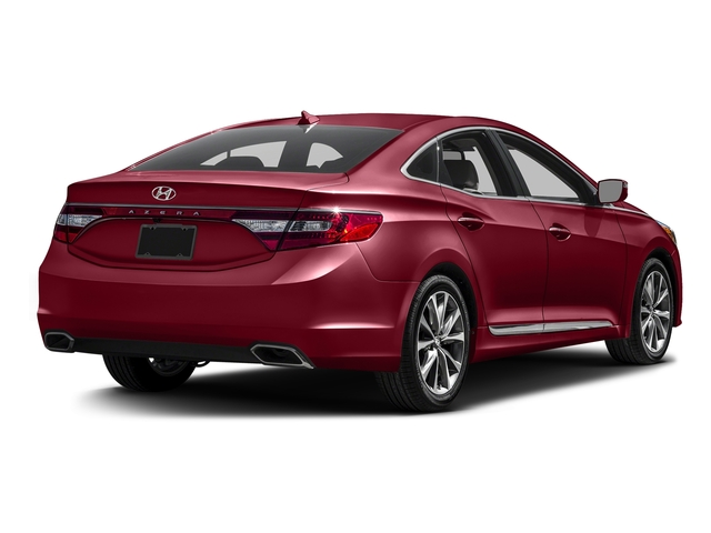 Venetian Red Pearl 2017 Hyundai Azera Pictures Azera Limited 3.3L photos rear view