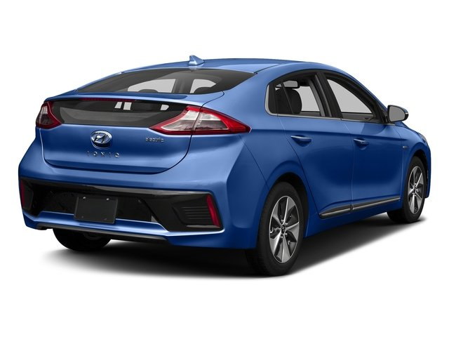 Electric Blue Metallic 2017 Hyundai Ioniq Electric Pictures Ioniq Electric Limited Hatchback photos rear view