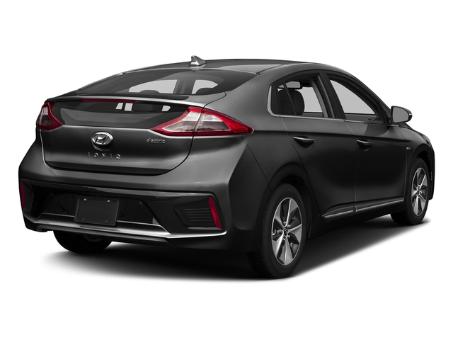 Black Noir Pearl 2017 Hyundai Ioniq Electric Pictures Ioniq Electric Limited Hatchback photos rear view
