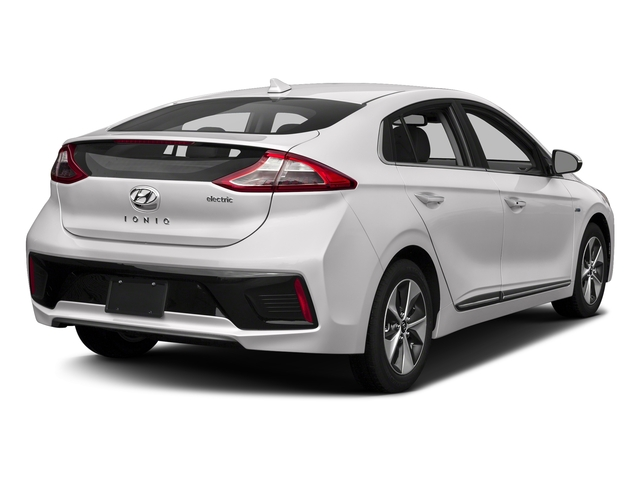 Ceramic White 2017 Hyundai Ioniq Electric Pictures Ioniq Electric Limited Hatchback photos rear view