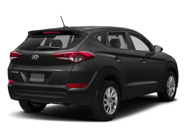 Black Noir Pearl 2017 Hyundai Tucson Pictures Tucson SE AWD photos rear view