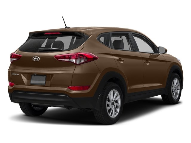 Mojave Sand 2017 Hyundai Tucson Pictures Tucson SE AWD photos rear view