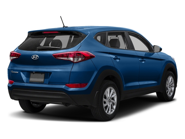 Caribbean Blue 2017 Hyundai Tucson Pictures Tucson SE AWD photos rear view