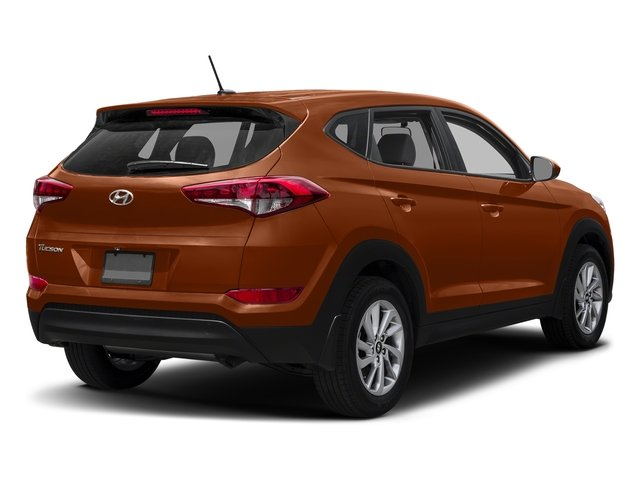 Sedona Sunset 2017 Hyundai Tucson Pictures Tucson SE AWD photos rear view