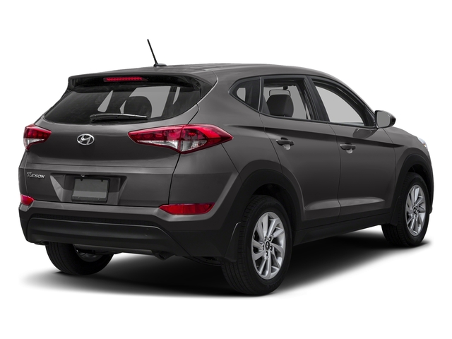 Coliseum Gray 2017 Hyundai Tucson Pictures Tucson SE AWD photos rear view