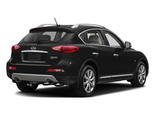 Black Obsidian 2017 INFINITI QX50 Pictures QX50 RWD photos rear view