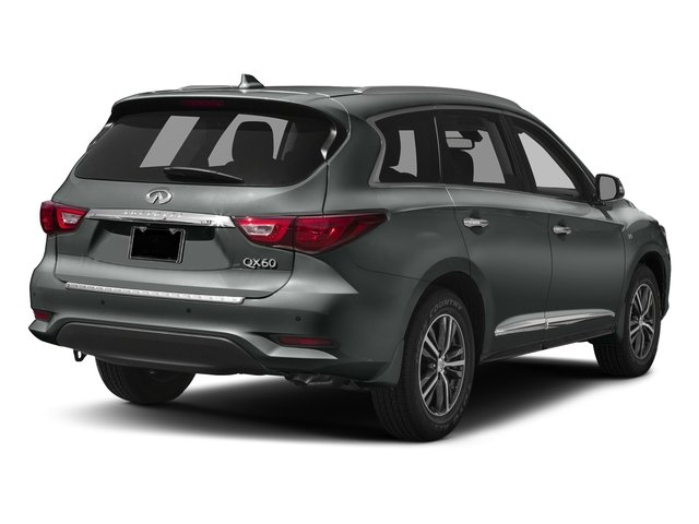 Graphite Shadow 2017 INFINITI QX60 Pictures QX60 Utility 4D AWD V6 photos rear view