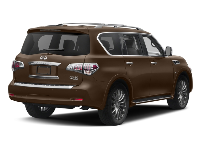 Dakar Bronze 2017 INFINITI QX80 Pictures QX80 Utility 4D Limited AWD V8 photos rear view