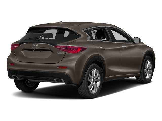 Chestnut Bronze 2017 INFINITI QX30 Pictures QX30 FWD photos rear view