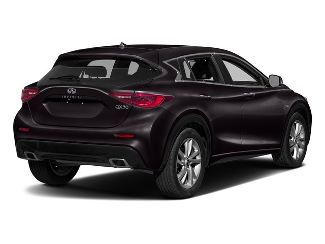 Malbec Black 2017 INFINITI QX30 Pictures QX30 Luxury FWD *Ltd Avail* photos rear view