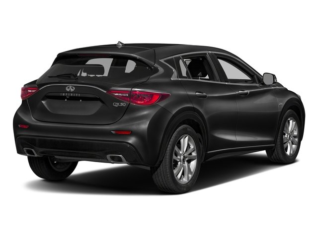 Black Obsidian 2017 INFINITI QX30 Pictures QX30 Luxury FWD *Ltd Avail* photos rear view