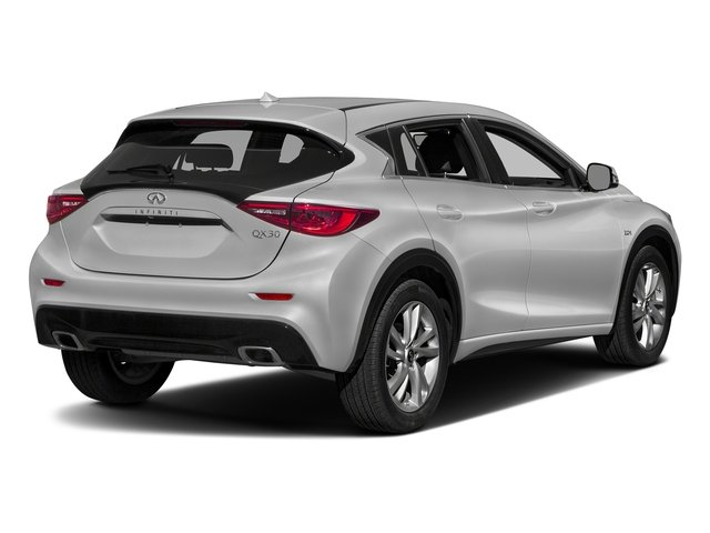 Blade Silver 2017 INFINITI QX30 Pictures QX30 Utility 4D Luxury 2WD photos rear view