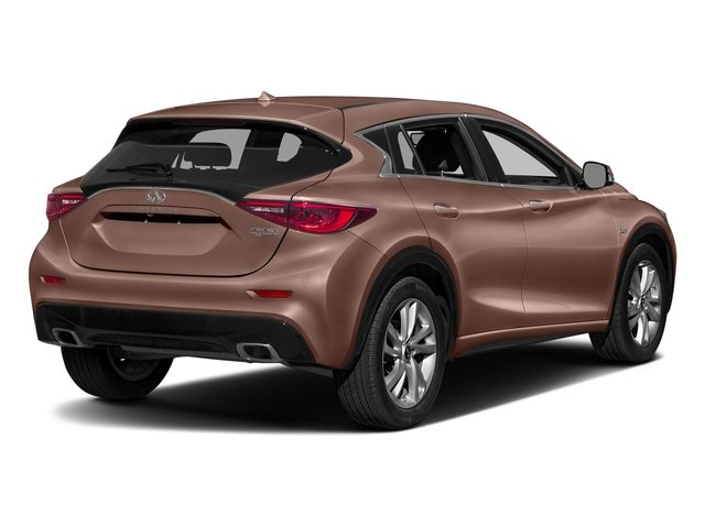 Liquid Copper 2017 INFINITI QX30 Pictures QX30 Luxury FWD *Ltd Avail* photos rear view