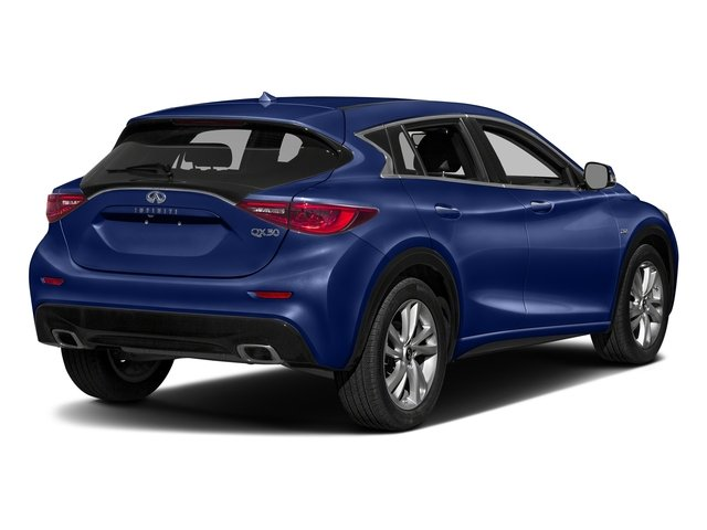 Ink Blue 2017 INFINITI QX30 Pictures QX30 Luxury FWD *Ltd Avail* photos rear view