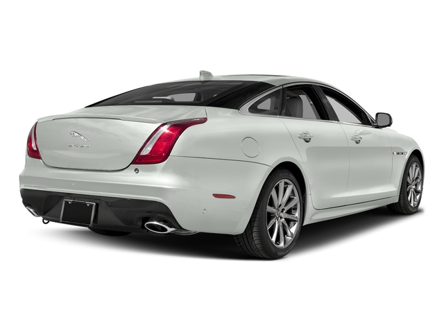 Polaris White 2017 Jaguar XJ Pictures XJ Sedan 4D R-Sport AWD V6 Supercharged photos rear view