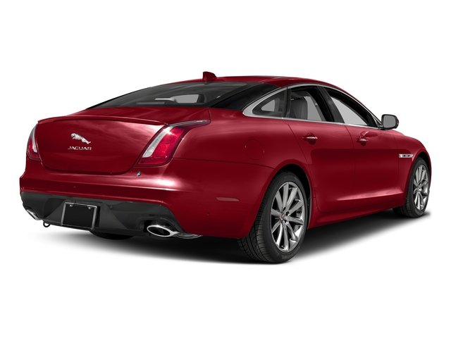 Italian Racing Red Metallic 2017 Jaguar XJ Pictures XJ Sedan 4D R-Sport AWD V6 Supercharged photos rear view