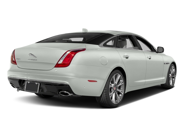 Polaris White 2017 Jaguar XJ Pictures XJ XJL Supercharged RWD photos rear view