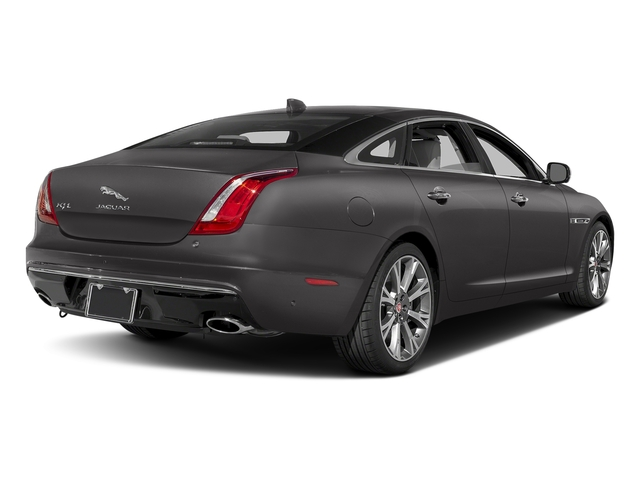 Ammonite Gray Metallic 2017 Jaguar XJ Pictures XJ XJL Supercharged RWD photos rear view
