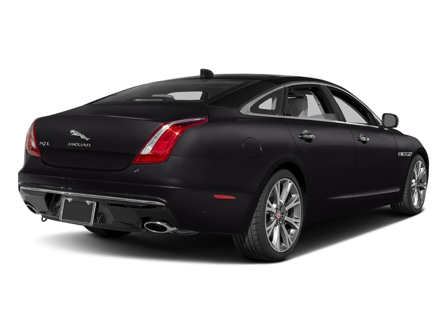 Ultimate Black Metallic 2017 Jaguar XJ Pictures XJ XJL Supercharged RWD photos rear view