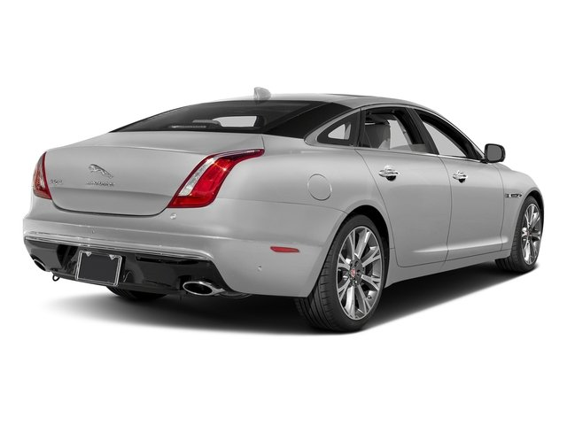 Gallium Silver 2017 Jaguar XJ Pictures XJ XJL Supercharged RWD photos rear view