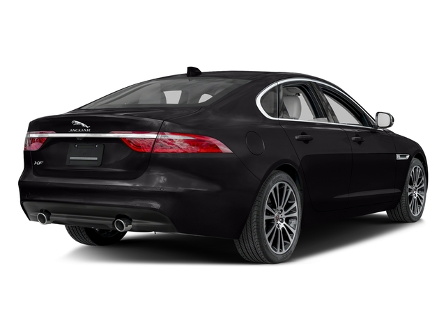 Ultimate Black Metallic 2017 Jaguar XF Pictures XF 20d Prestige AWD photos rear view