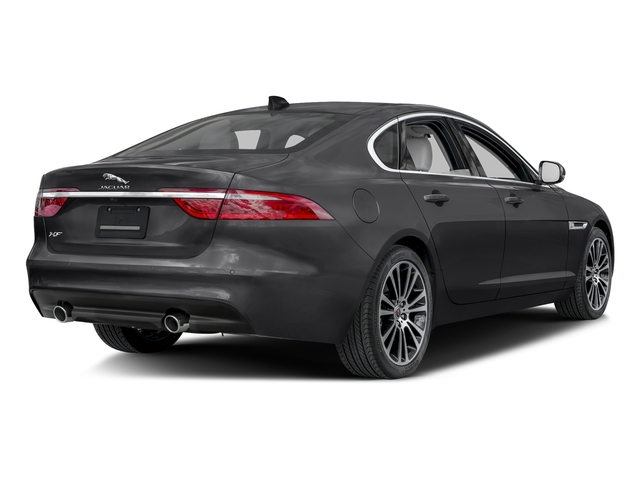 Storm Gray 2017 Jaguar XF Pictures XF 20d Prestige AWD photos rear view