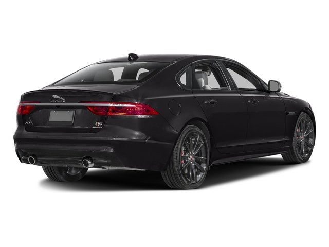 Ultimate Black Metallic 2017 Jaguar XF Pictures XF S RWD photos rear view