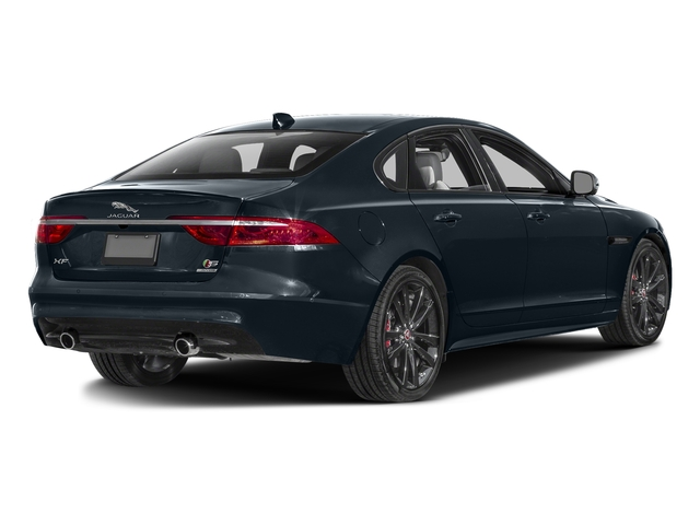 Dark Sapphire Metallic 2017 Jaguar XF Pictures XF S RWD photos rear view