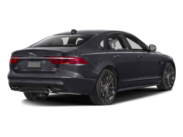 Tempest Gray 2017 Jaguar XF Pictures XF S RWD photos rear view