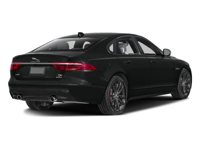 Cosmic Black 2017 Jaguar XF Pictures XF S RWD photos rear view