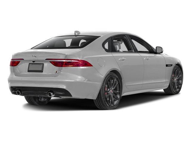 Gallum Silver 2017 Jaguar XF Pictures XF S RWD photos rear view