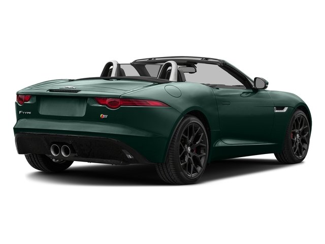 British Racing Green Metallic 2017 Jaguar F-TYPE Pictures F-TYPE Convertible Manual S photos rear view