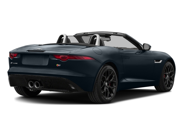 Dark Sapphire Metallic 2017 Jaguar F-TYPE Pictures F-TYPE Convertible Manual S photos rear view