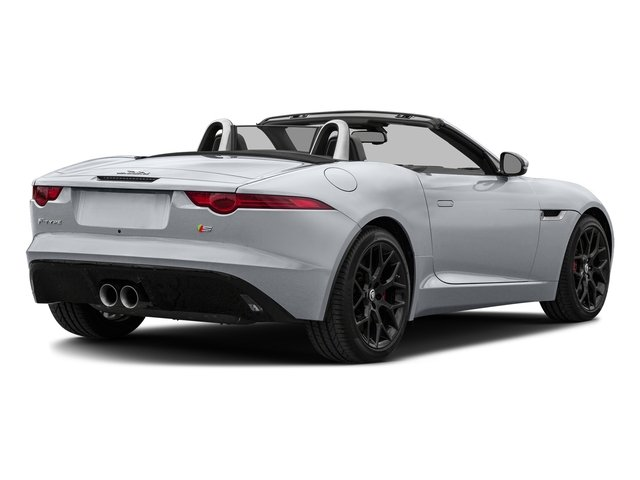 Glacier White Metallic 2017 Jaguar F-TYPE Pictures F-TYPE Convertible Manual S photos rear view