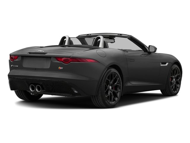 Storm Grey 2017 Jaguar F-TYPE Pictures F-TYPE Convertible Manual S photos rear view