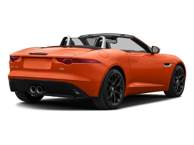 Firesand Metallic 2017 Jaguar F-TYPE Pictures F-TYPE Convertible Manual S photos rear view